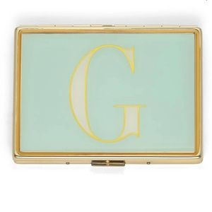 "Kate Spade It's Personal ID Initial ""G"" Holder"